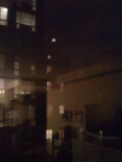 Outside in the Chelsea neighborhood. Reminds me of Rear Window. I knew I should have brought Brian's binoculars.