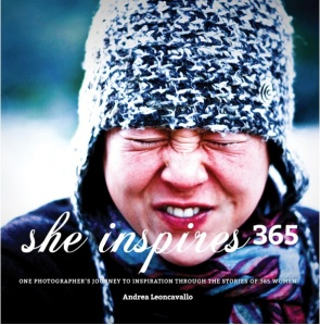 she inspires image